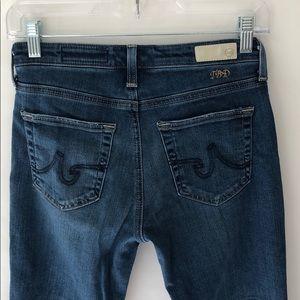 AG Jeans - the Jodi Crop High-rise slim flare crop